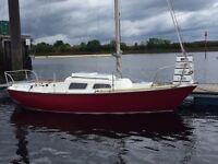 Hurley 22 Classic Sailing Boat