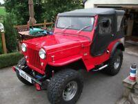 Willys Jeep Mahindra CJ3B CJ310