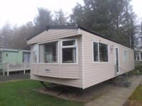 2007 Cosalt Riverdale caravan for sale at Percy Wood Country Park near Alnwick in Northumberland