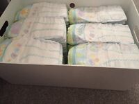 73x Pampers active fit nappies size 6