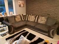 Martinez corner sofa and Twister chair