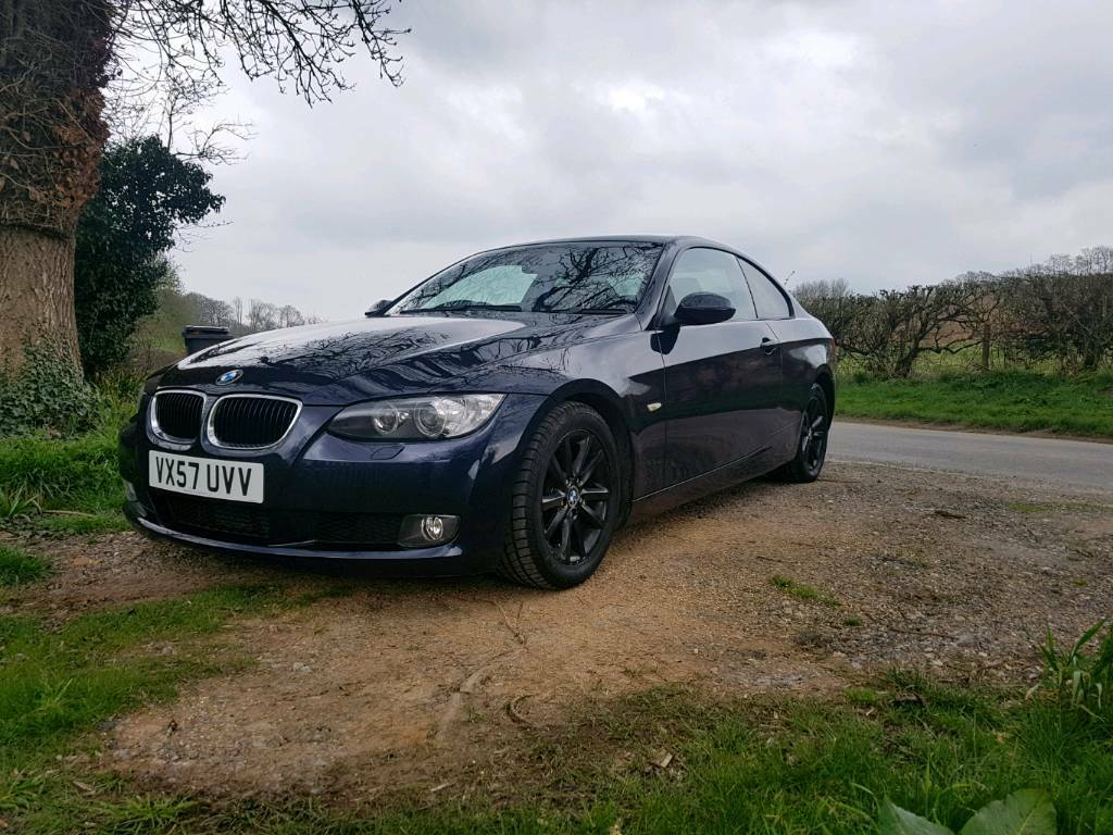 bmw e92 3 series 320d monaco blue idrive upgrades in stockbridge hampshire gumtree. Black Bedroom Furniture Sets. Home Design Ideas