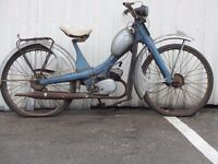 BARN FIND NSU QUICKLY 50 CC MOPED SCOOTER AUTO CYCLE DELIVERY AVAILALBE