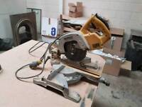 dewalt 110v chop saw