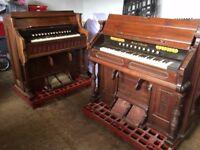 2 Antique Organs Mason Hamlin Robert Stather