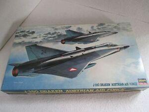 Hasegawa J-35Ö Saab Draken Maßstab 1:72 - <span itemprop='availableAtOrFrom'>Wiener Neustadt, Österreich</span> - Hasegawa J-35Ö Saab Draken Maßstab 1:72 - Wiener Neustadt, Österreich