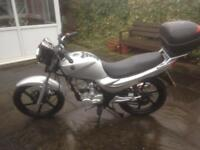Sym xs 125, 65 plate , low mileage, very good condition, reduced to 895