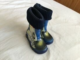 Kids wellies size 22/23 -5,5/6,5 uk
