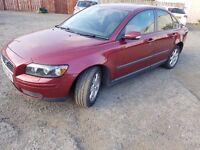 VOLVO S40 s 2005 1.6 PETROL RED 4 DOOR SALOON