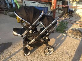 Icandy double pushchair in excellent condition collection only Colwick