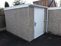 Small New Garage to rent Moseley / Kings Heath access 24.7 ideal clean dry storage