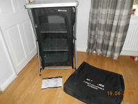 EURO HIKE 4 SHELF COLLAPSIBLE CUPBOARD EXCELLENT CONDITION