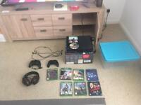Xbox One 1TB with games and accessories