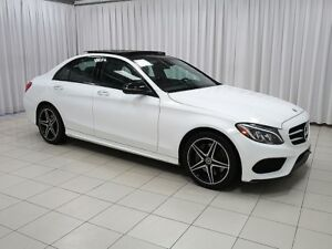 2018 Mercedes Benz C-Class C300 4MATIC AWD w/ AMG SPORT PACKAGE,