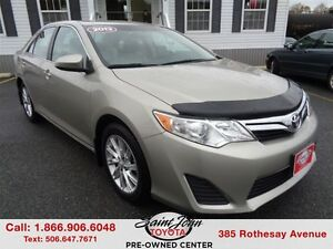 2013 Toyota Camry LE $120.94 BI WEEKLY!!!