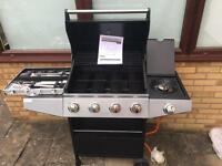 Premium 4 burner BBQ