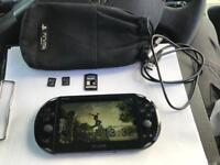 Playstation vita slim 16gb 8gb memory cards black ops declassified