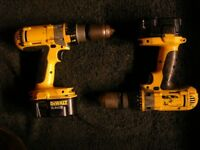 DeWalt 14.4 volt XRP professional drill, NO battery or Charger - ONE left