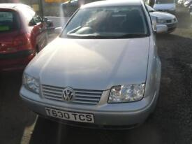 VOLKSWAGEN BORA 1.6 SE 4dr MOT MAY 2018 ONLY 65K GENUINE MILES FROM NEW TRADE-IN �995 (silver) 1999