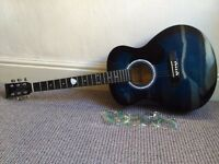 Martin Smith Acoustic Guitar Full Size (39inch)