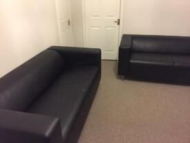 2 As New Ikea sofas