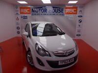 Vauxhall Corsa SRI (BODY KIT) FREE MOT'S AS LONG AS YOU OWN THE CAR!!! (white) 2012