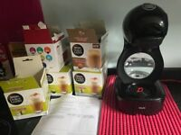 Dolce Gusto Coffee Machine with over 80 pods, Cappucino, Americano, Decaf