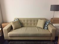 Three seater sofa - NEED TO SELL ASAP!!!!!!