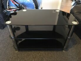 Glass TV stand perfect condition