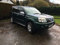 Nissan X Trail with Service History