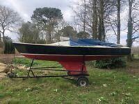 "Sailing Boat FOR SALE Hunter/Oliver Lee Squib 19"" No. 233 ""Marisol II"""