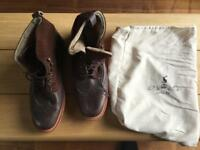 Joules leather boots