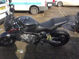 Honda Matt black CB 650 F for quick sale !!