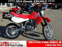 2014 Honda XR650L Tackle any terrain!!