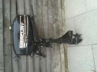 2.5HP Mercury Outboard