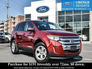 2013 Ford Edge SEL AWD - HEATED FRONT SEATS - BLUETOOTH - REVERS