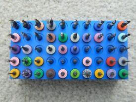 Set of 50 carburettor drill bits