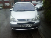 09 CITROEN XSARA PICASSO 1.6 PETROL DESIRE,JULY MOT ,2 PREVIOUS OWNERS ONLY £1495