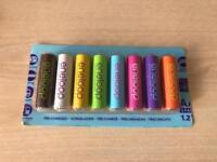 SANYO ENELOOP rechargeable AA batteries 8 pack 1900 mAh