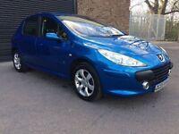 Peugeot 307 1.6 Diesel 5 doors blue