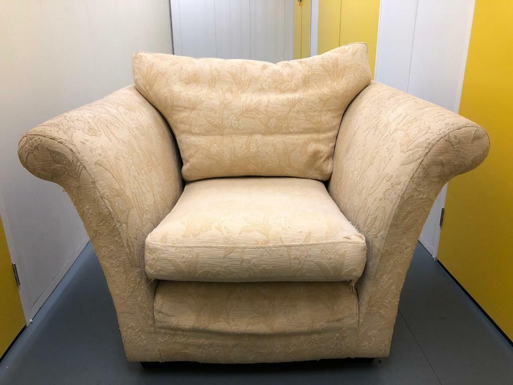 Multiyork light yellow armchair | in Macclesfield ...