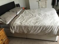 Double Divan bed - Headboard NOT included