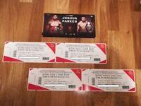 2x Anthony Joshua vs Joseph Parker Tickets - Cardiff - 31/03/18 - £80 Face Value Tickets in Hand