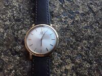 Very Nice Vintage 1950s Manual Wind Omega Mens Wrist Watch.