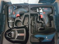 Brand new Bosch 10.8v combi and impact driver.