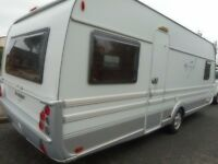 TABBERT VIVALDI 560 2008 MODEL FIXED BED FULLY LOADED ANY PX DELIVERY MUST BE SEEN BARGAIN