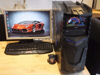 full 6 core pc gaming system