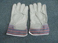 Protective Gloves, Synthetic Leather x 10pairs