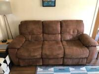 SOFA - 3 seater recliner