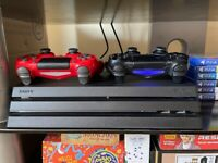 PS4 Pro 1To + 2 controllers + original box and cables